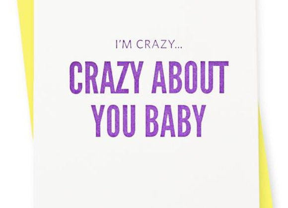 Crazy Baby Card