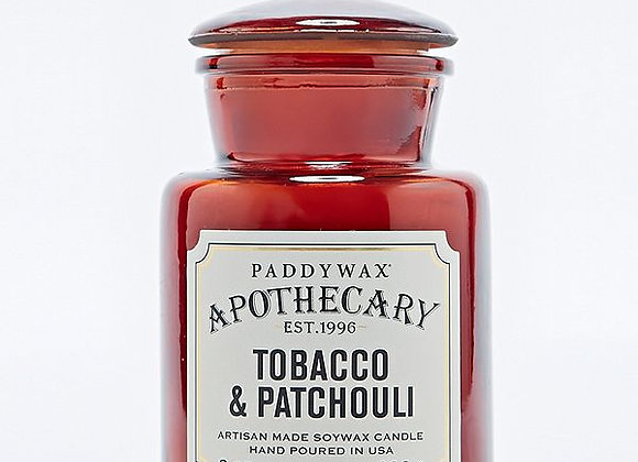 Apothecary Tobacco & Patchouli Candle