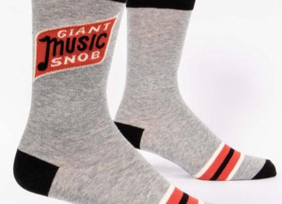 Giant Music Snob Socks