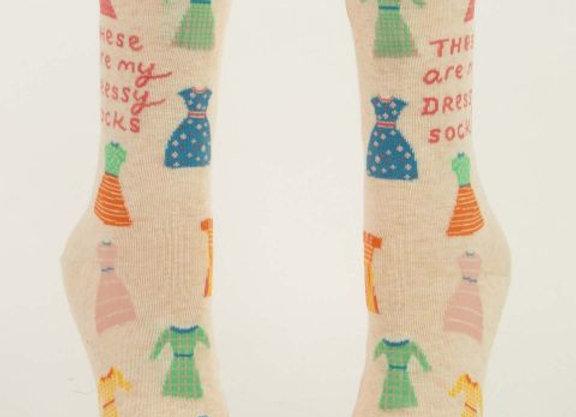 Women's Crew Socks My Dressy Socks