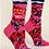 Thumbnail: Women's Crew Socks Dear Wine, Yes