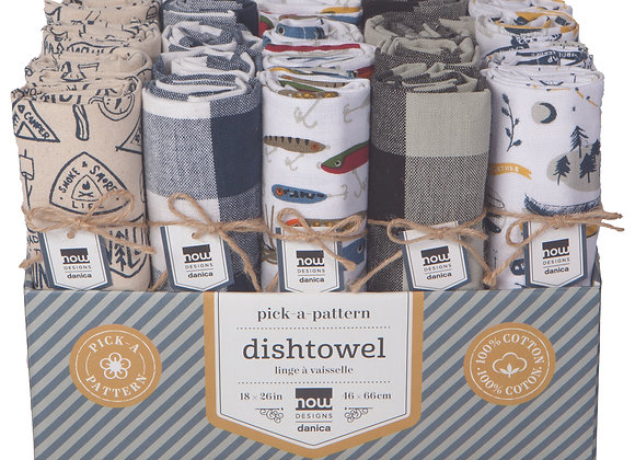 Tea Towel Assorted Lodge