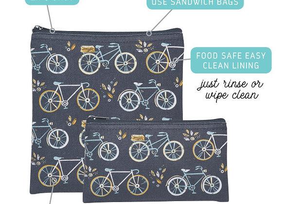 Sweet Ride Snack Bag Set of 2