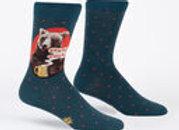 Men's Crew Bearly Awake Socks