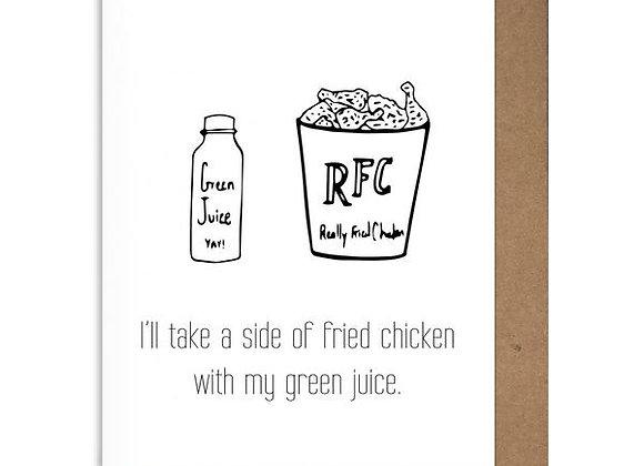 Green Juice Card