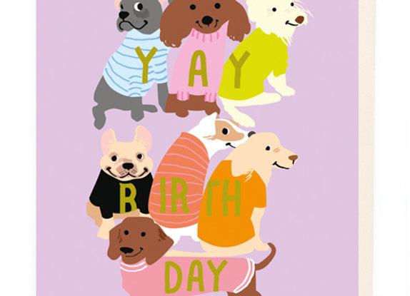 Yay Birthday Card by Noi