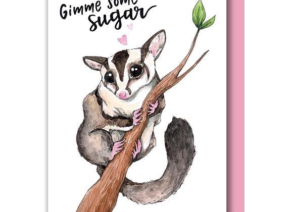 Gimme Sugar Glider Card