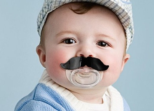 Chill Baby Moustache Pacifier