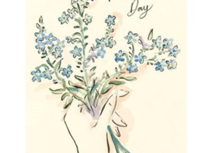 Forget Me Nots Mother's Day Card