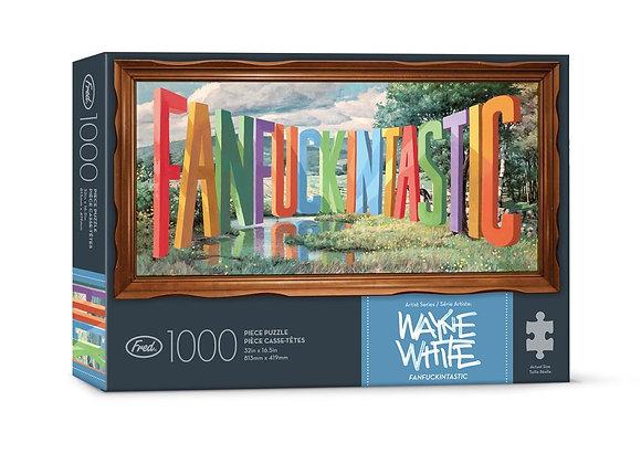 FANFCKINTASTIC 1000pc Puzzle Set