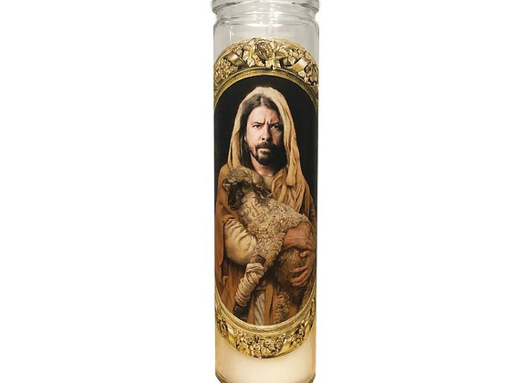 Saint Dave Grohl Prayer Candle
