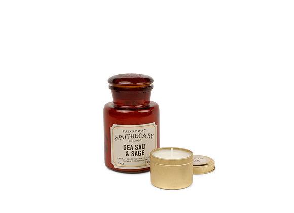 Apothecary Sea Salt & Sage Candle