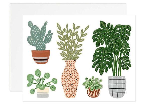 House Plants Card