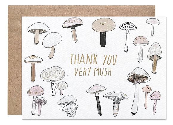 Thank You Very Mush Card