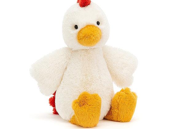 Bashful Chicken Small Plush Toy