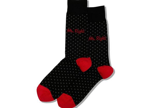 Mr. Right - Socks