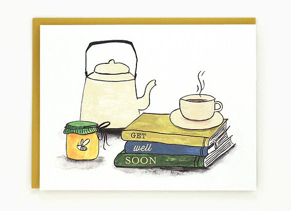 Sympathy Tea & Book Card