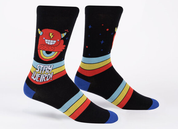 Stay Weird Sock it to Me