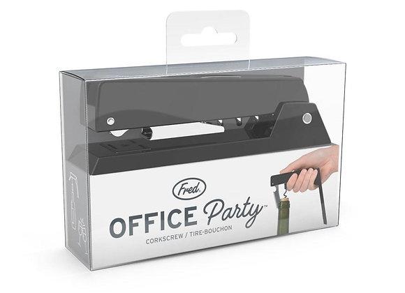 Office Party Stapler Corkscrew & Bottle Opener