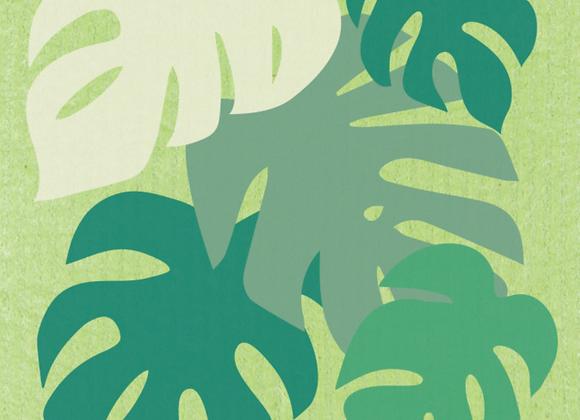 Monstera Ecologie Swedish Sponge Cloth
