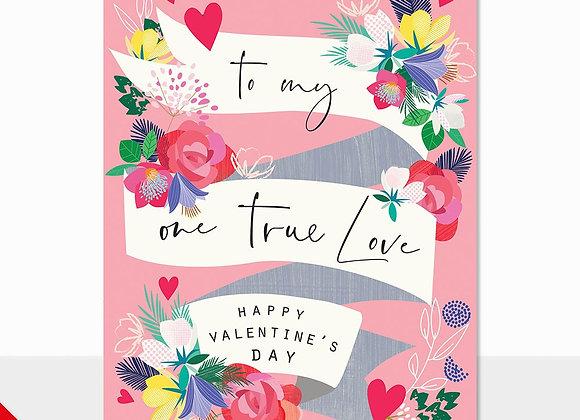 True Love Banner Card