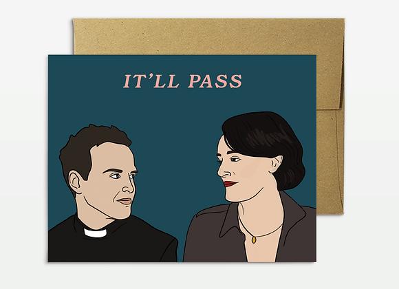 Fleabag It'll Pass Card