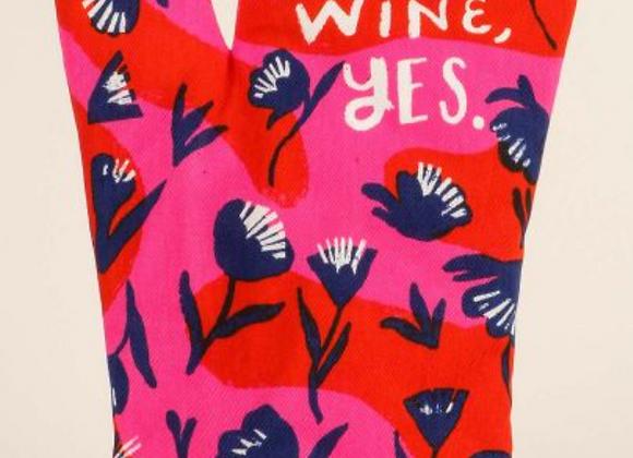 Dear Wine, Yes Oven Mitt