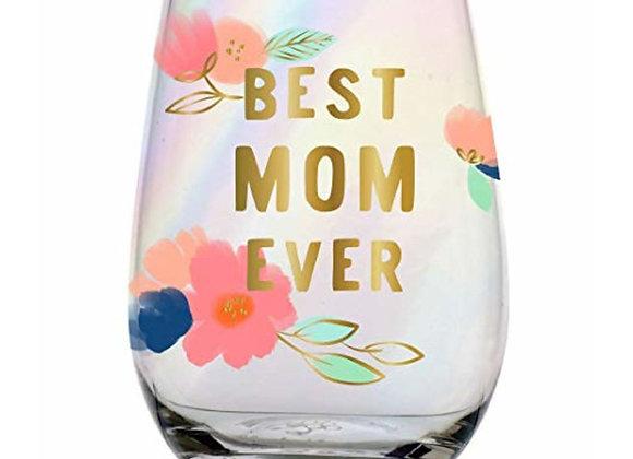 Stemless Best Mom Ever 20oz