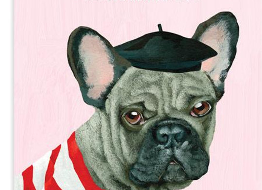 Fing Frenchie Card by 23rd Day