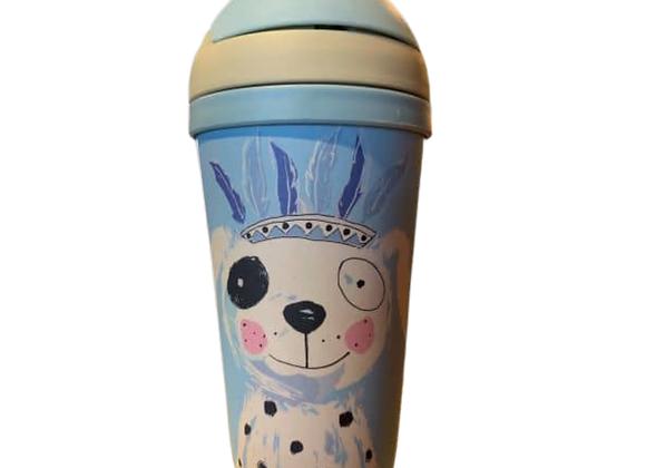 Kid's Water Bottle Jack Dog