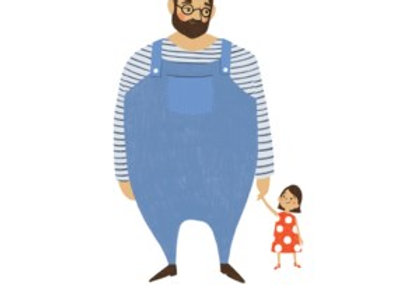 Dad And Daughter Card
