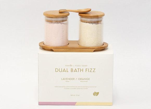 Dual Bath Fizz Set Lavender Orange