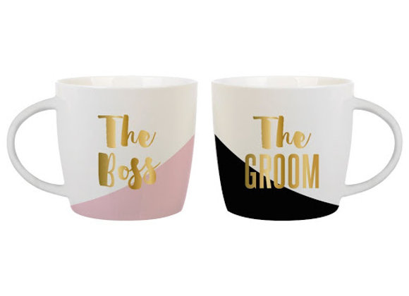 The boss & The Groom - Mug Set