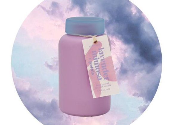 Lolli Lavender Mimosa & Petals Candle