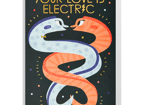Electric Love Card