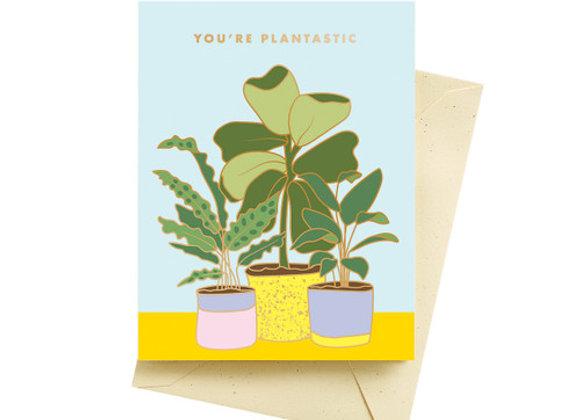 Plantiastic Birthday Card