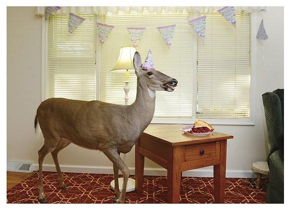 Deer Cherry Pie Birthday Care
