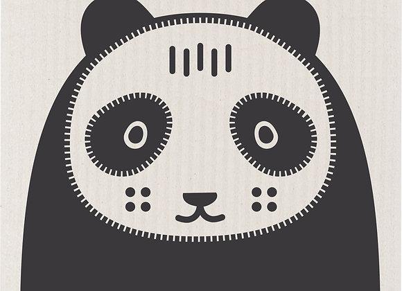 Swedish Dishcloth Poppy Panda