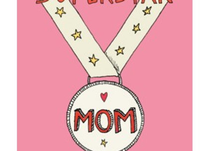 Mom Medal Mother's Day Card