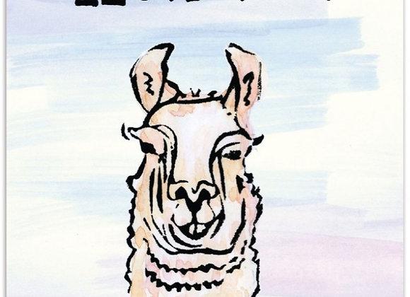 Llama You Card