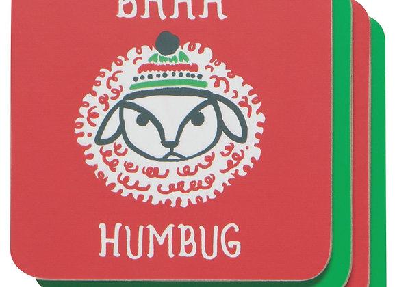 Baa Humbug - Coasters
