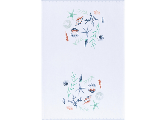 Costal Treasures Tea Towel