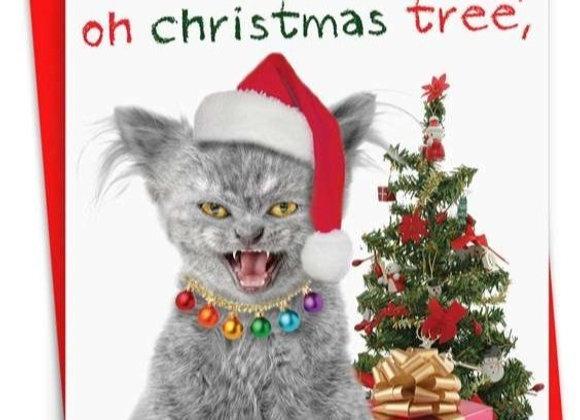 Oh Christmas Tree Christmas Card