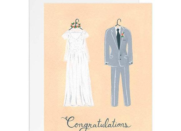 Bride & Groom Congrats Card