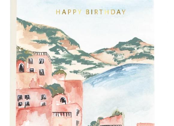 Seaside Birthday Card