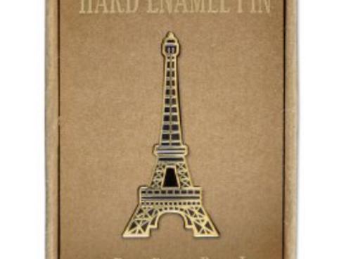 @141 Enamel Pin Eiffel Tower