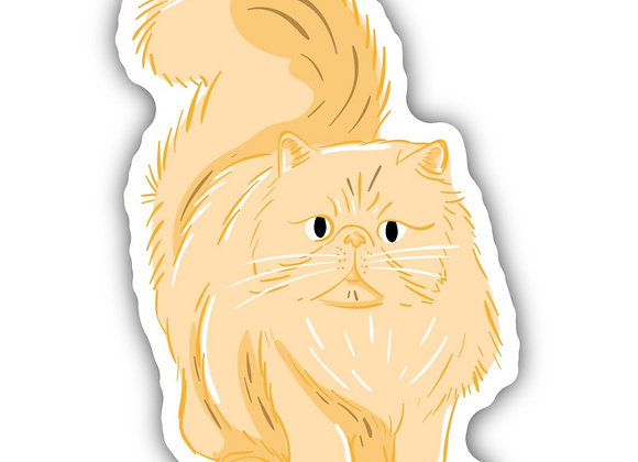 Lucy Cat Sticker