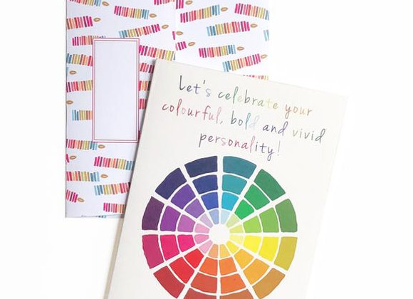 Happy Birthday Colour Wheel Card by Artistry
