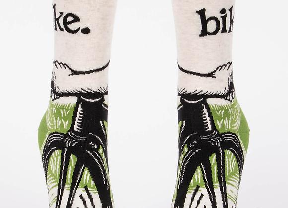 Men's Crew Socks Bike Path