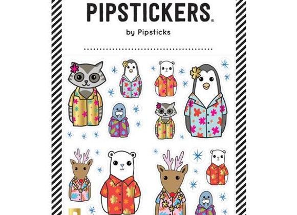 Pipsticks Sticker Sheet Animals